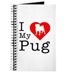 I Love My Pug Journal