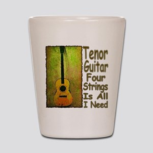 Tenor Guitar Shot Glass
