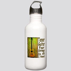 Tenor Guitar Stainless Water Bottle 1.0L