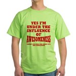 Awesomness Green T-Shirt