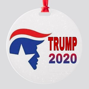 TRUMP 2020 Round Ornament