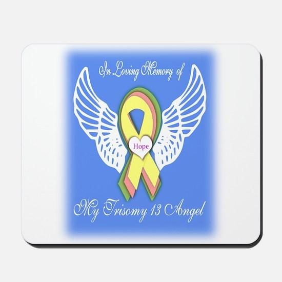 Trisomy 13 Angel boy Mousepad