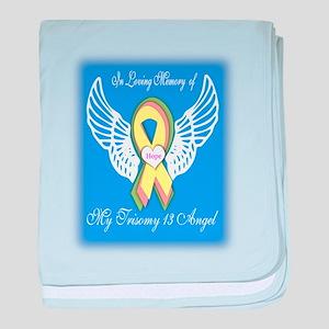 Trisomy 13 Angel boy baby blanket