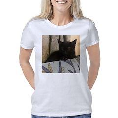 Sleepy Kitty Women's Classic T-Shirt