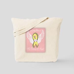 Trisomy 13 Angel girl Tote Bag