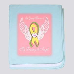 Trisomy 13 Angel girl baby blanket