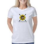 Fire Paddle Logo Clear 3 Women's Classic T-Shirt