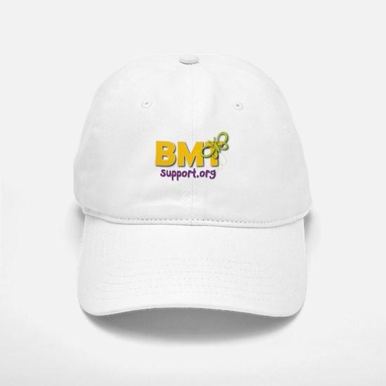 White BMTSupport Baseball Baseball Cap