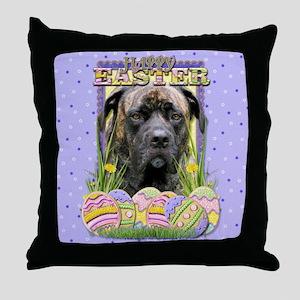 Easter Egg Cookies - Mastiff Throw Pillow