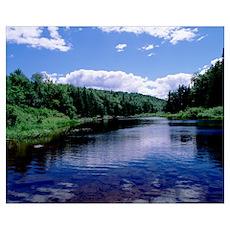New York, Adirondack State Park, Adirondack Mounta Poster