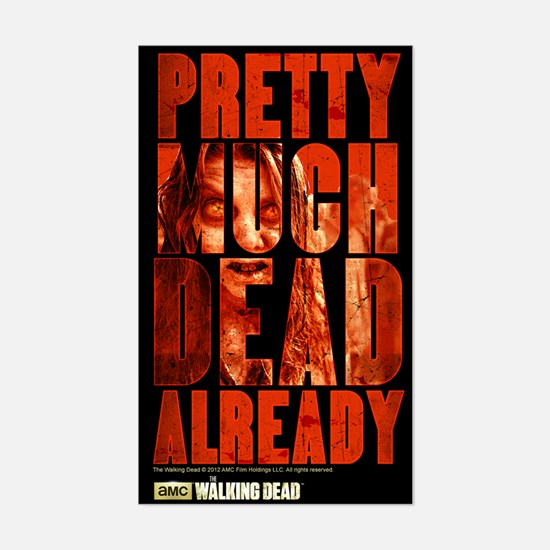 The Walking Dead Already Decal