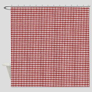Crimson Pride Shower Curtain