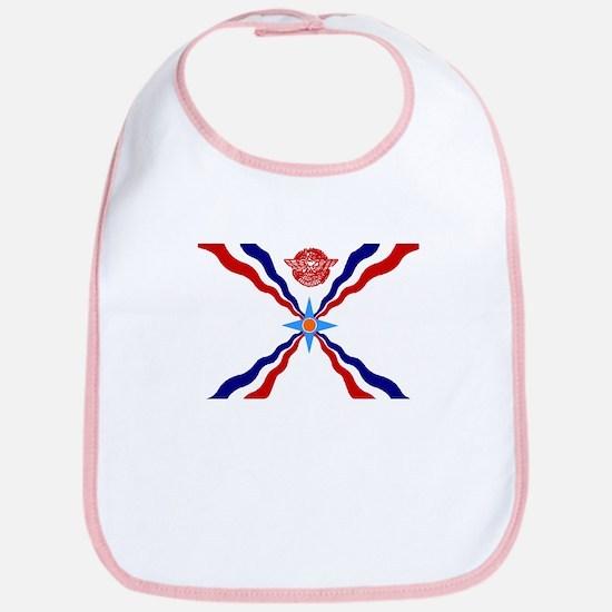 Assyrian Flag Bib