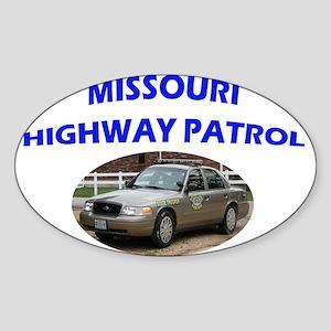 Missouri Highway Patrol Sticker (Oval)