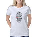 wordle design Women's Classic T-Shirt