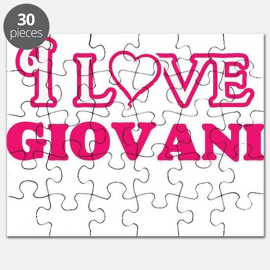 I Love Giovani Puzzle