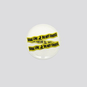 Lacrosse Crime Tape Mini Button
