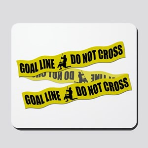 Lacrosse Crime Tape Mousepad