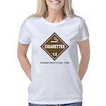 hazmat_10x10_dot_cigarette Women's Classic T-Shirt