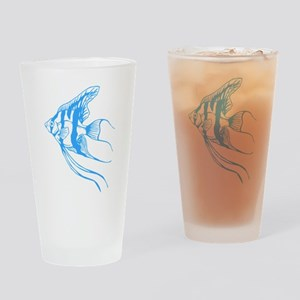 Angelfish Tropical Fish. Drinking Glass