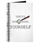 Verify Everything Yourself Journal