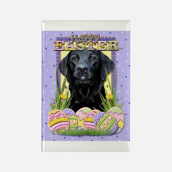 Easter Egg Cookies - Labrador Rectangle Magnet