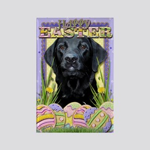 Easter Egg Cookies - Labrador Rectangle Magnet