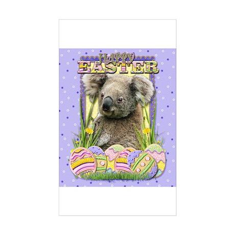 Easter Egg Cookies - Koala Sticker (Rectangle 50 p