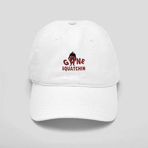 Gone Squatchin (red) Cap
