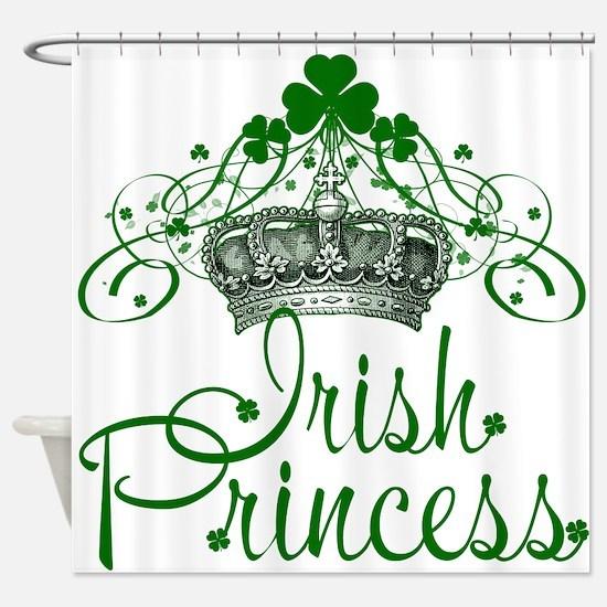 Irish Princess Shower Curtain