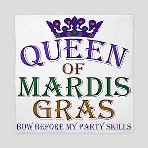 Queen of Mardis Gras Queen Duvet