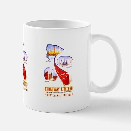 Broadway Limited PRR Mug