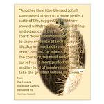 Desert Father #7, Blessed John Small Poster