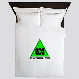 The ABC of Bias Queen Duvet