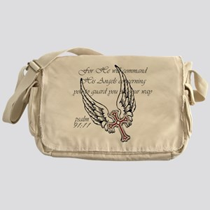 Angel Wings Messenger Bag