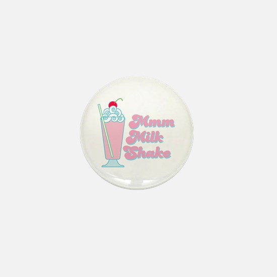 Strawberry Milkshake Mini Button
