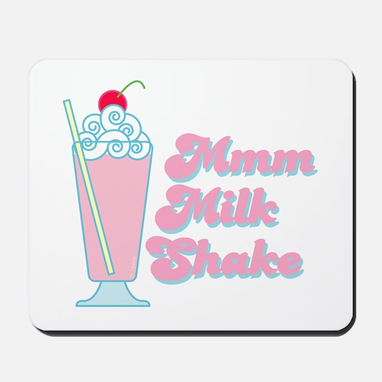 Strawberry Milkshake Mousepad