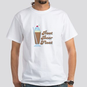 Rootbeer Float White T-Shirt