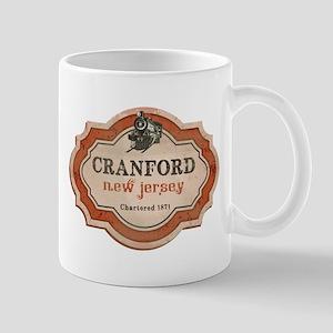 Cranford Logo with Train Mug
