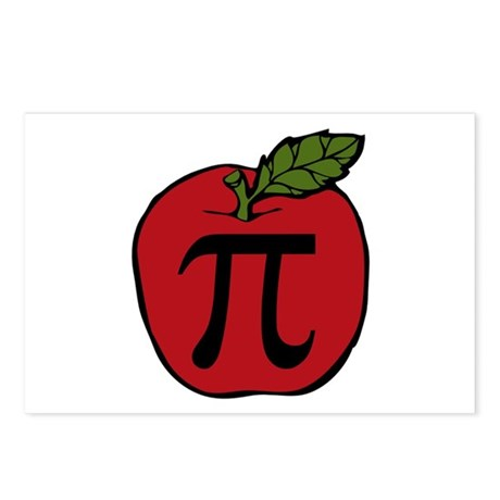 Apple Pi Postcards (Package of 8)