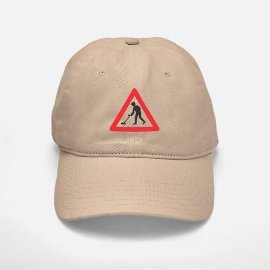 Warning, Detectorist Ahead Baseball Baseball Cap