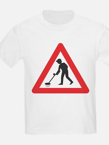 Warning, Detectorist Ahead T-Shirt