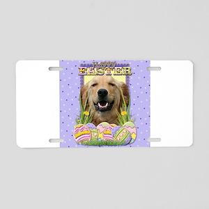Easter Egg Cookies - Golden Aluminum License Plate