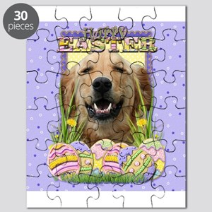 Easter Egg Cookies - Golden Puzzle