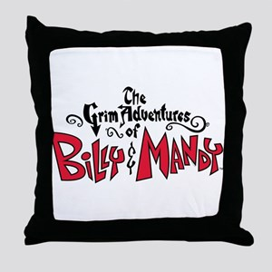 The Grim Adventures of Billy Throw Pillow