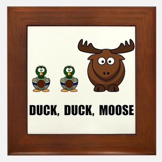 Duck Duck Moose Framed Tile