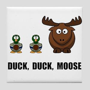 Duck Duck Moose Tile Coaster