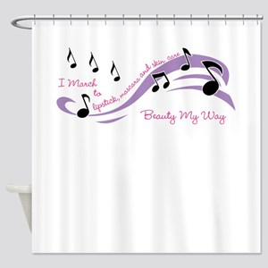 Beauty March Shower Curtain
