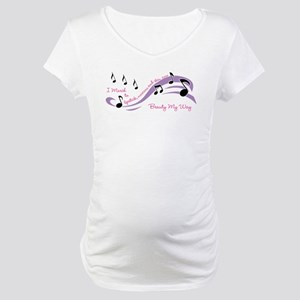 Beauty March Maternity T-Shirt