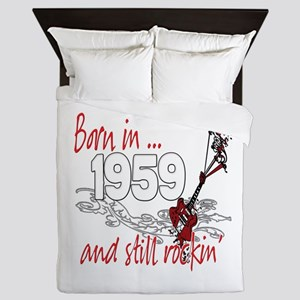 Born in 1959 Queen Duvet